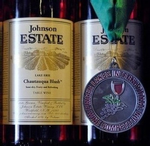 Johnson Estate Winery award list