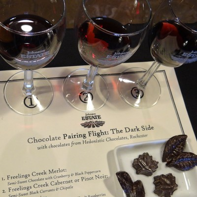 Chocolate Pairing Flight