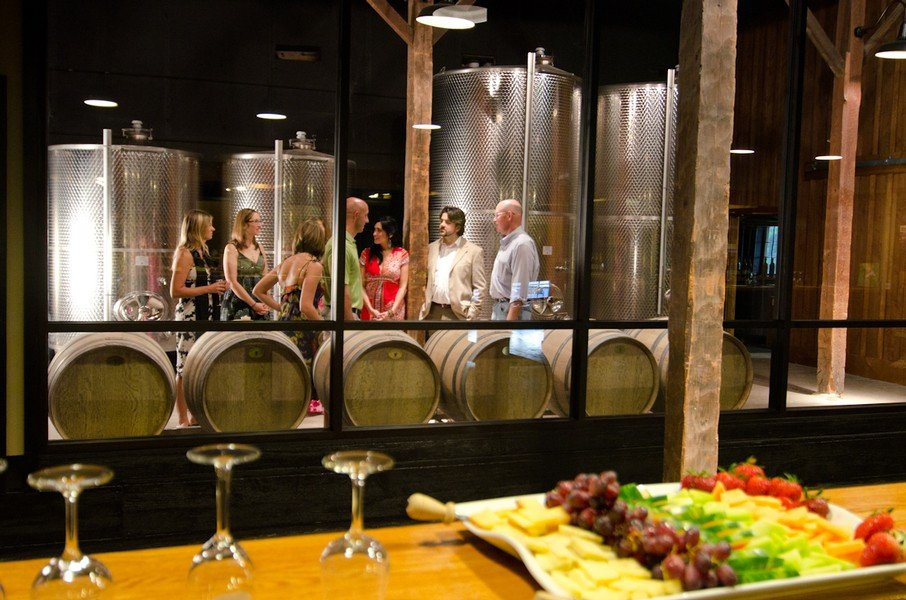 Johnson Estate Winery private tour