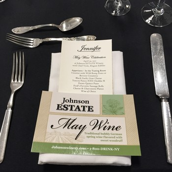 2019 Estate Dinner: May Wine Release