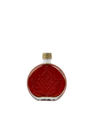 Maple Syrup - Glass Bottle - Leaf