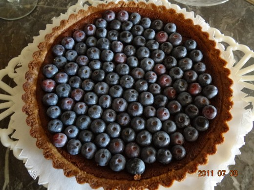 Blueberry-Concord Grape Tarts