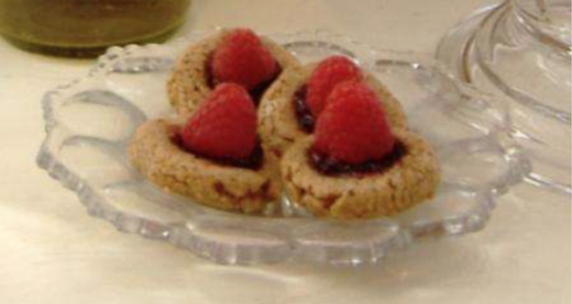 Raspberry Almond Tartletts